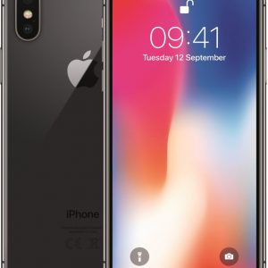 Apple iPhone X - 64GB - Space Grey - Refurbished