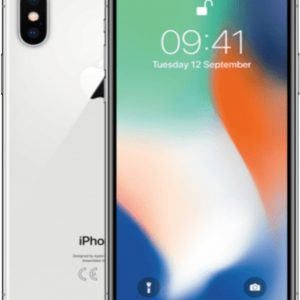 Apple iPhone X - 64GB - Zilver - Refurbished