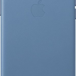 Apple Leather Backcover iPhone X / Xs - Cornflower