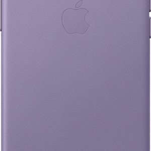 Apple Leather Backcover iPhone X / Xs - Lilac