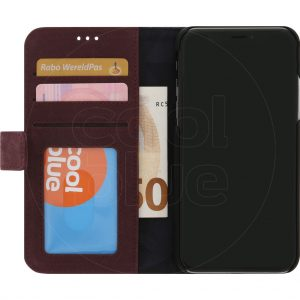 Decoded Leather 2-in-1 Wallet iPhone X/Xs Book Case Rood
