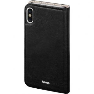 Hama Guard Case Flip Case Apple iPhone X Zwart