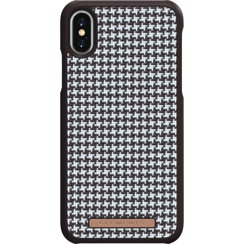 Nordic Elements Sif Couture Apple iPhone X/Xs Back Cover Bruin