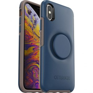 Otterbox Symmetry Pop Apple iPhone X/Xs Back Cover Blauw