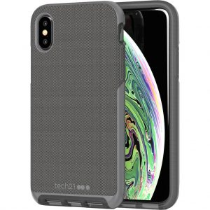 Tech21 Evo Luxe iPhone X/Xs Back Cover Grijs