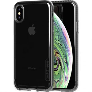 Tech21 Pure Carbon Apple iPhone X/Xs Back Cover Zwart/Transparant