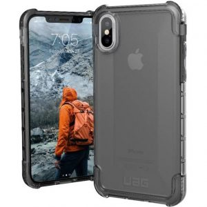 uag Plyo Case Apple iPhone X, iPhone XS Grijs (transparant)