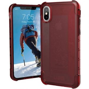 uag Plyo Case Apple iPhone X, iPhone XS Rood (transparant)