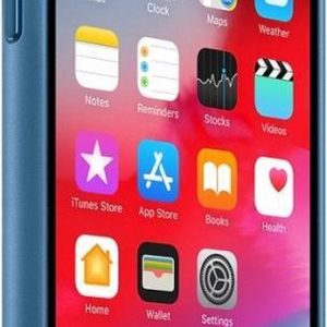 Apple Leather Backcover iPhone X / Xs - Cape Cod Blue