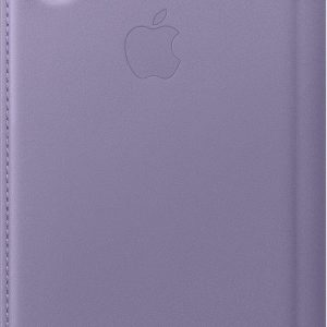 Apple Leather Folio Booktype iPhone X / Xs hoesje - Lilac