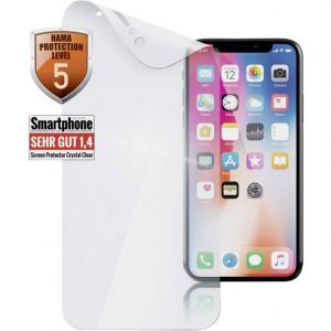 Hama Crystal Clear Screenprotector (folie) Geschikt voor: Apple iPhone X 1 stuk(s)
