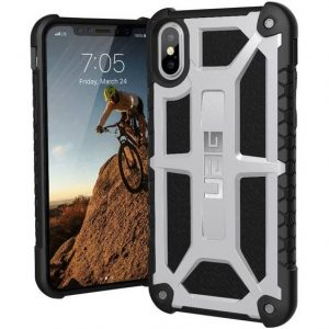uag Monarch Case Apple iPhone X, iPhone XS Platina