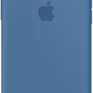 Apple Silicone Backcover iPhone X hoesje - Denim Blue
