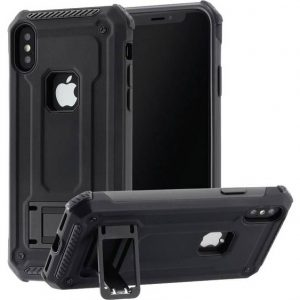 Hama Army Backcover Apple iPhone XS, iPhone X Zwart