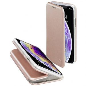 Hama Curve Booklet Apple iPhone X, iPhone XS Rose gold