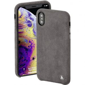 Hama Finest Touch Cover Apple iPhone X, iPhone XS Antraciet