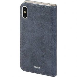 Hama Guard Case Flip Case Apple iPhone X Blauw