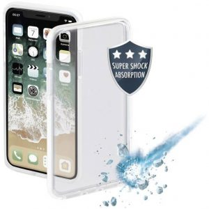 Hama Protector Backcover Apple iPhone X, iPhone XS Wit