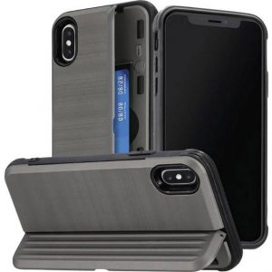 Hama Rugged Backcover Apple iPhone X, iPhone XS Antraciet