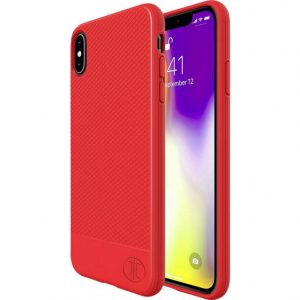 JT Berlin Pankow Soft Backcover Apple iPhone X, iPhone XS Rood
