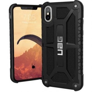 uag Monarch Case Apple iPhone X, iPhone XS Zwart
